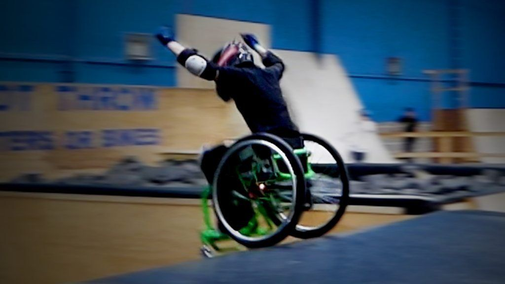I believe that people can accomplish some incredible things when they are challenged in a positive way.  I found this video on the BBC homepage today and there is another one with a guy that just did the 1st double back flip in a wheel chair.  It is too bad that so many people focus on the negative side of things.  So much more could be accomplished.  As always, JMHO.
