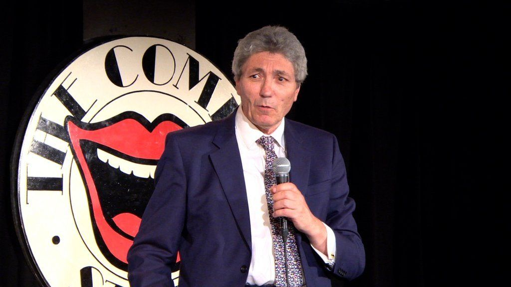 Comedy writer with Parkinson's tries stand-up comedy