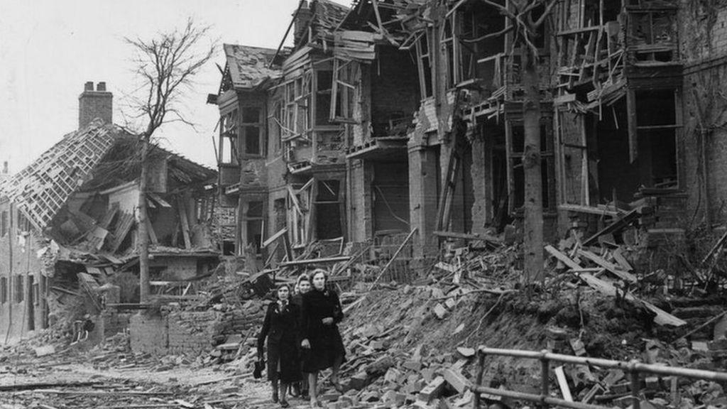 The Coventry Blitz 39 Hysteria Terror And Neurosis 39 Bbc News