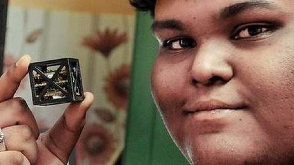 Indian teen builds world's 'lightest satellite'