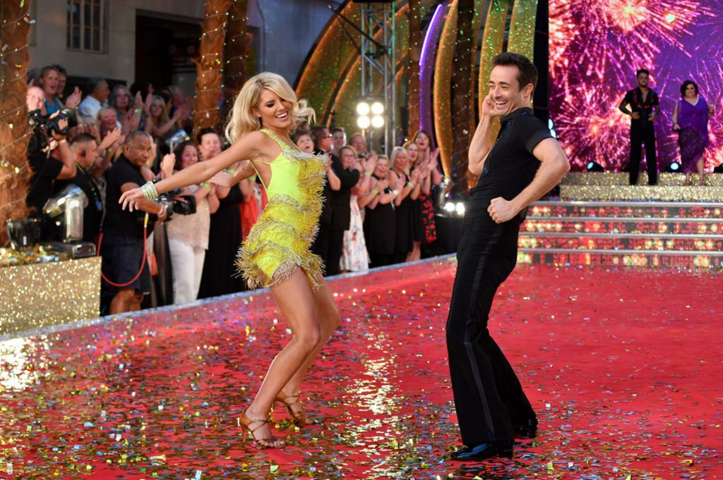 Strictly Come Dancing stars strut their stuff on red carpet