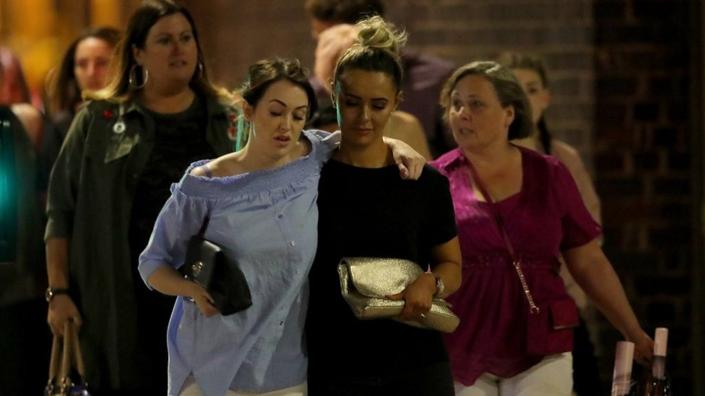 In pictures: Manchester blast aftermath