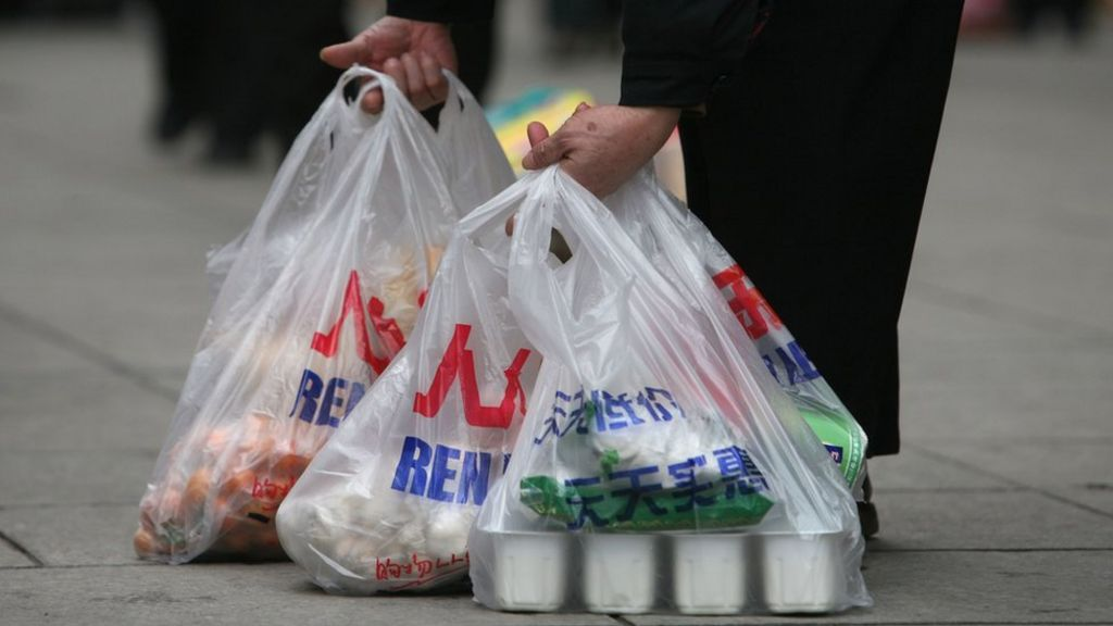 Plastic: China and other places banning plastic bags CBBC