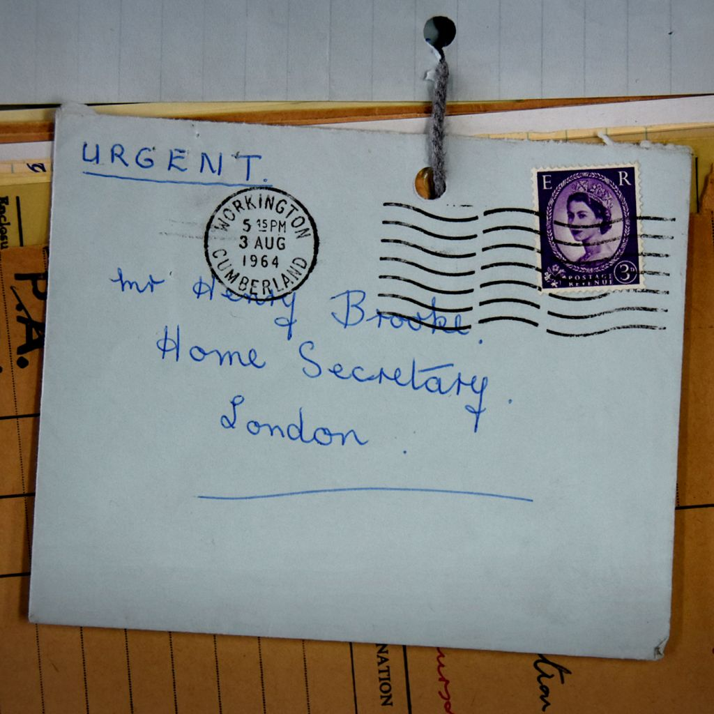 Mrs Warmby's letter to the Home Secretary