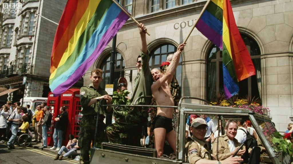Pride in London: Then and now