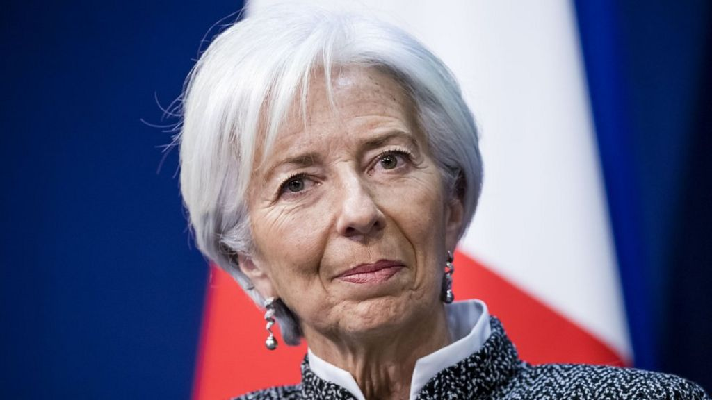 bbc.co.uk - IMF's Lagarde says central banks could issue digital money