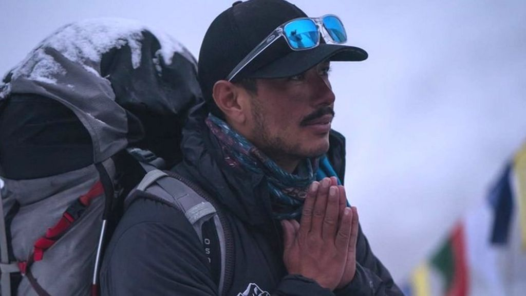 Nirmal Purja: Ex-soldier climbs 14 highest mountains in seven months