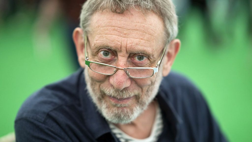 Author Michael Rosen 'poorly but stable' say family - BBC News