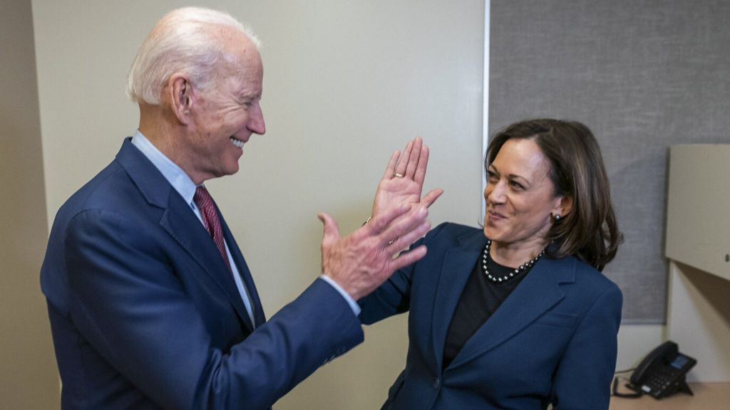 Biden Vp Pick Kamala Harris Chosen As Running Mate Bbc News