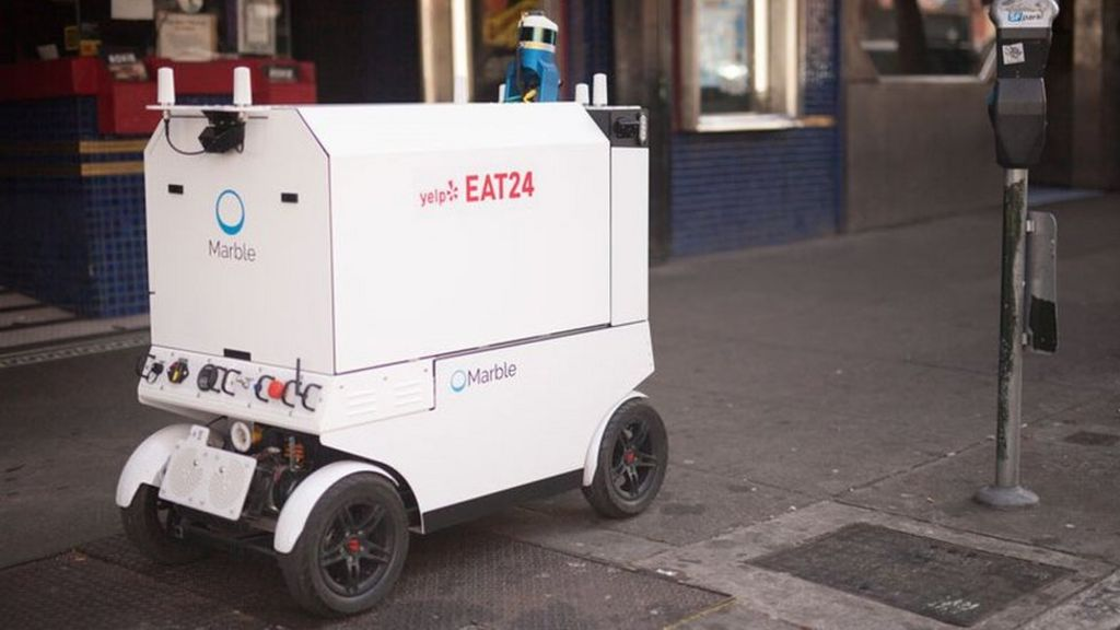 San Francisco to Restrict Goods Delivery Robots