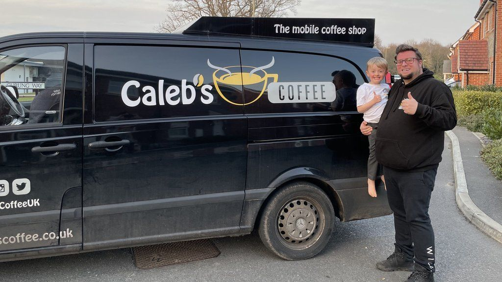 Caleb's Coffee van