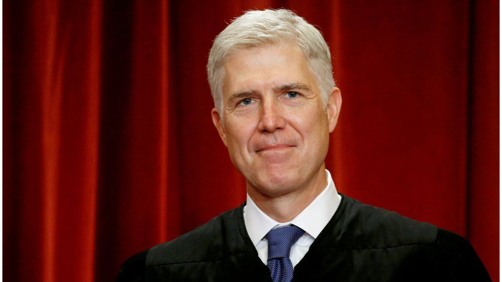 Neil Gorsuch on the US Supreme Court