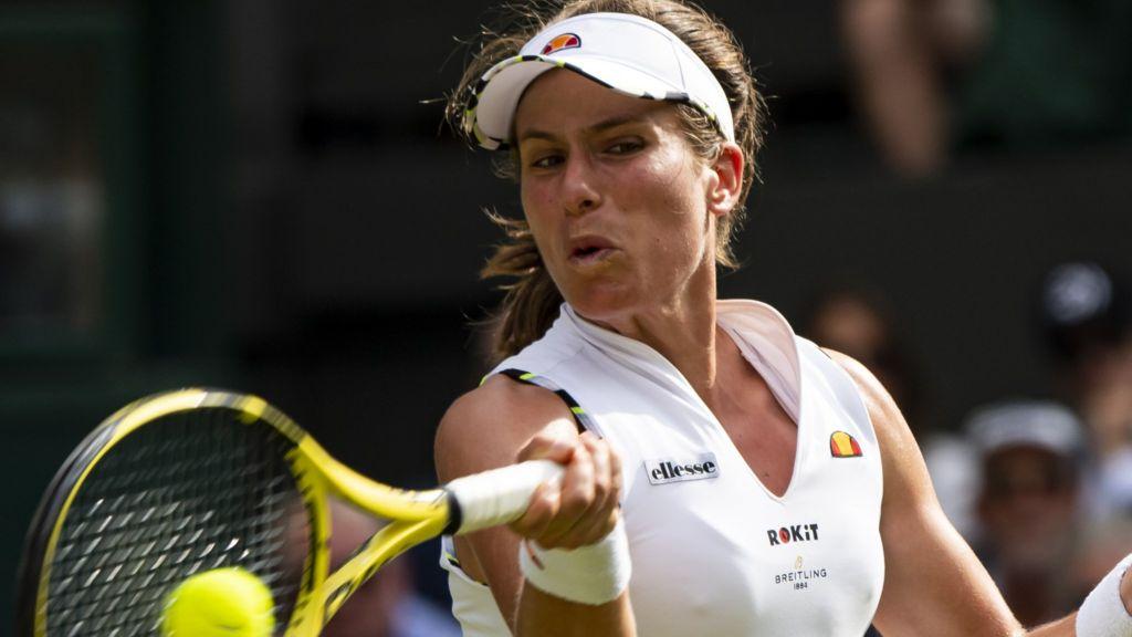 Johanna Konta beaten by Dayana Yastremska in Rogers Cup first round