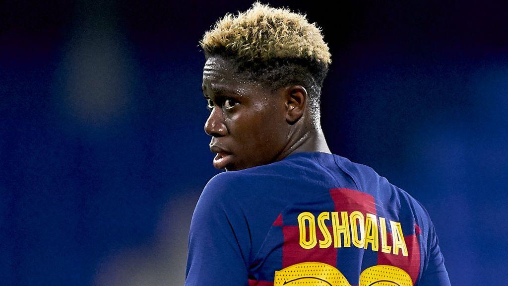 Asisat Oshoala: 'I want to create my own history' - BBC Sport