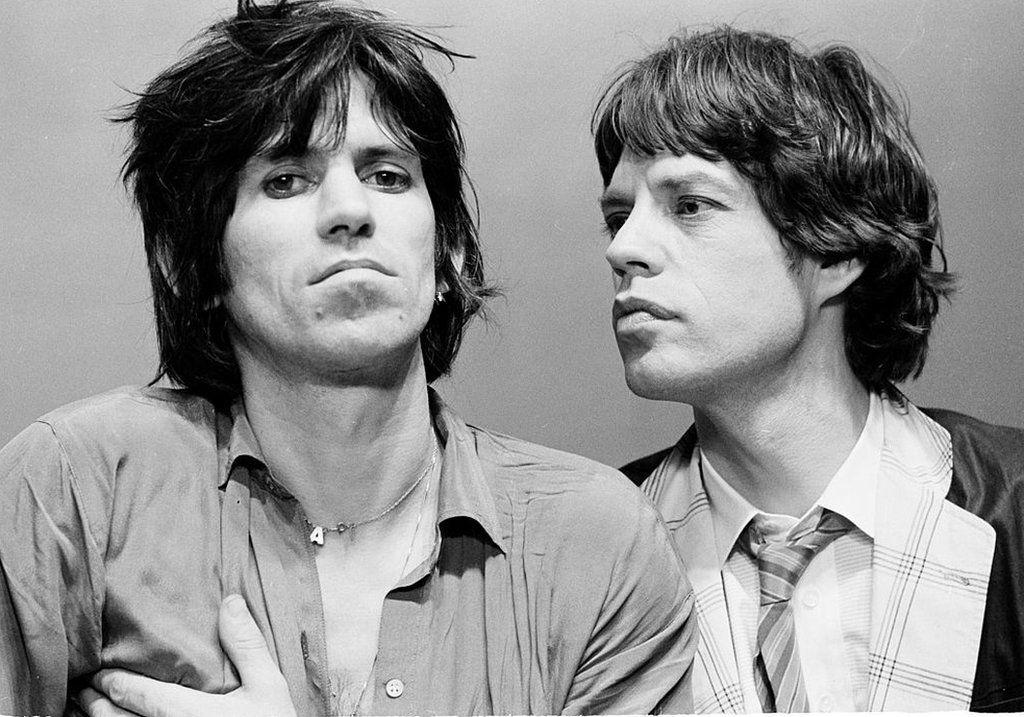 Keith Richards and Mick Jagger