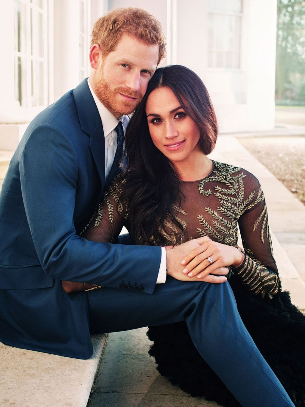 Prince Harry and Meghan Markle engagement photos released - BBC News