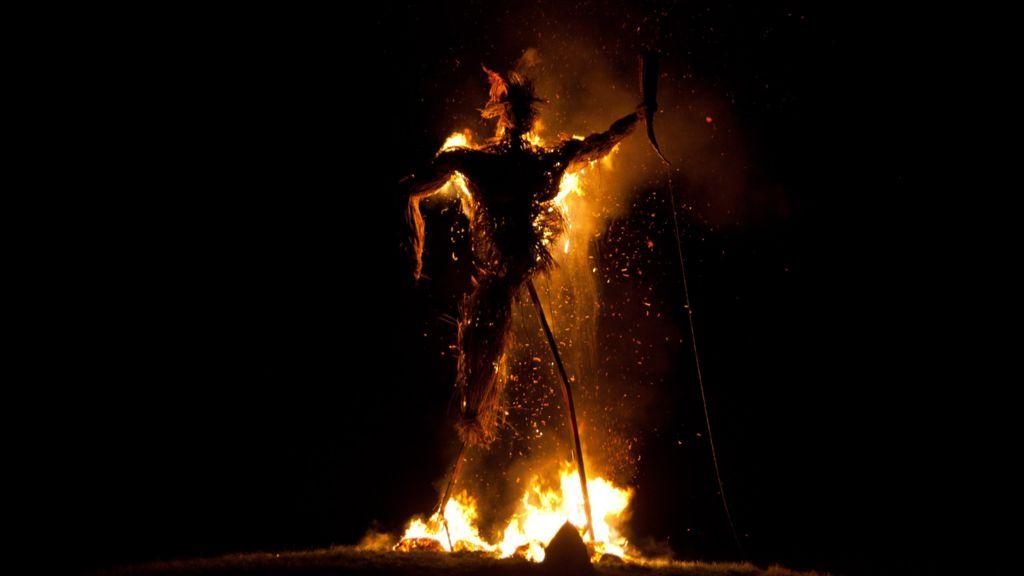 Waving a fond farewell to the Wickerman Festival - BBC News