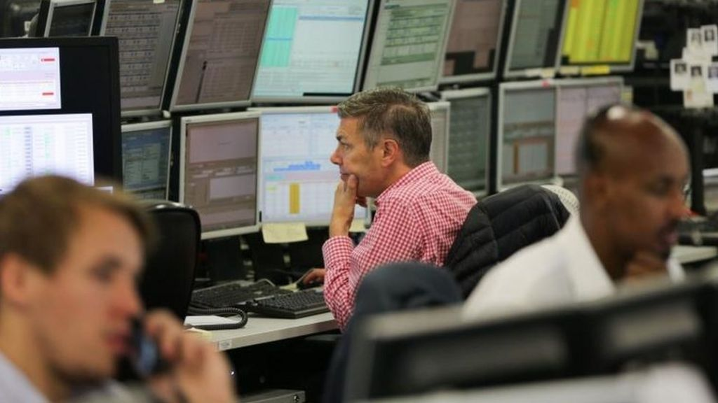 FTSE 100 rebounds and sterling rises