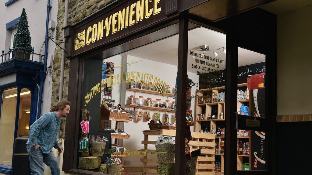 'CON-venience store'