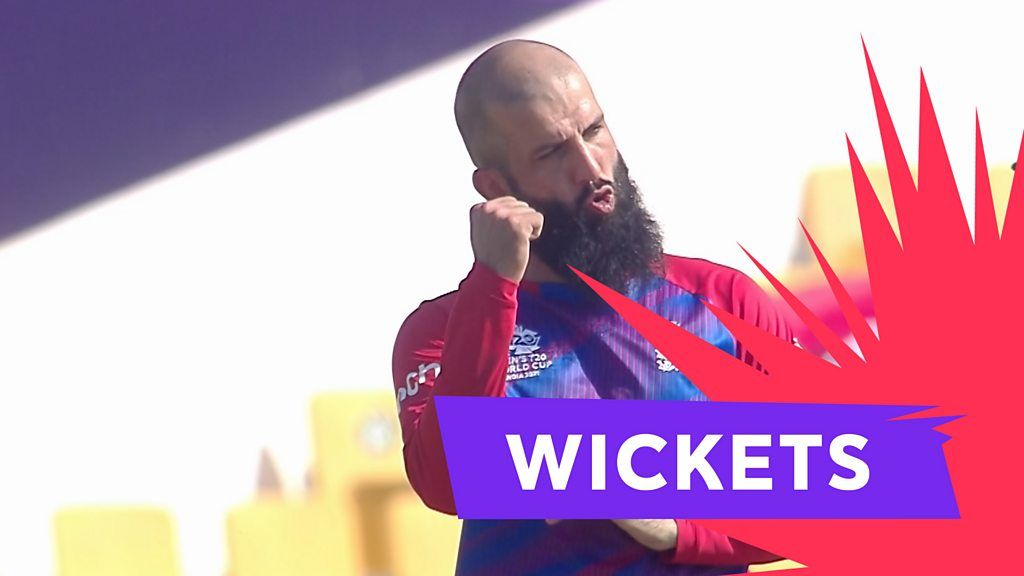 Watch: Moeen takes two wickets in two ball
