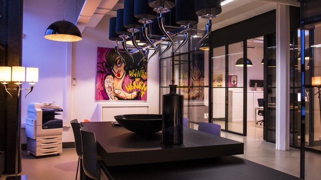 The offices at Armada Music