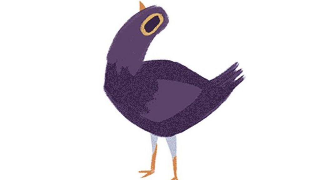 What Does This Purple Bird Mean BBC News - Facebook window stickers for business uk