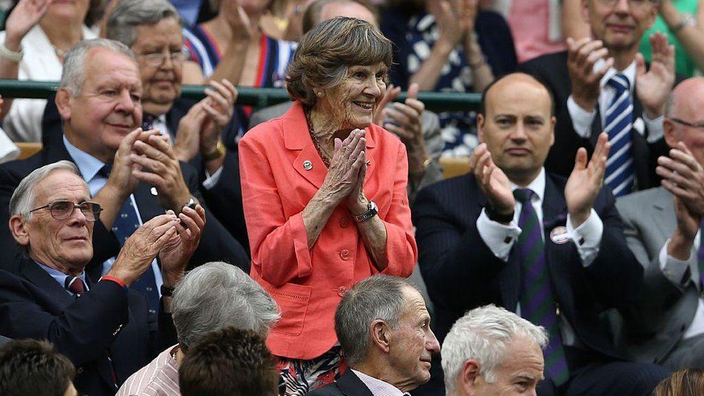 Joy Lofthouse at Wimbledon