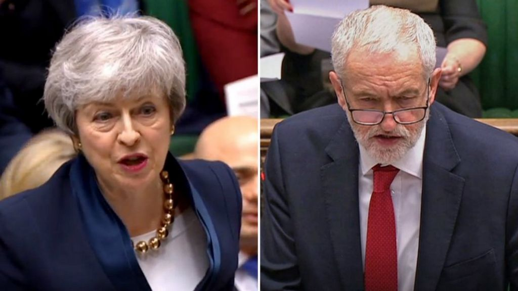 Brexit: Theresa May and Jeremy Corbyn hold 'constructive' talks