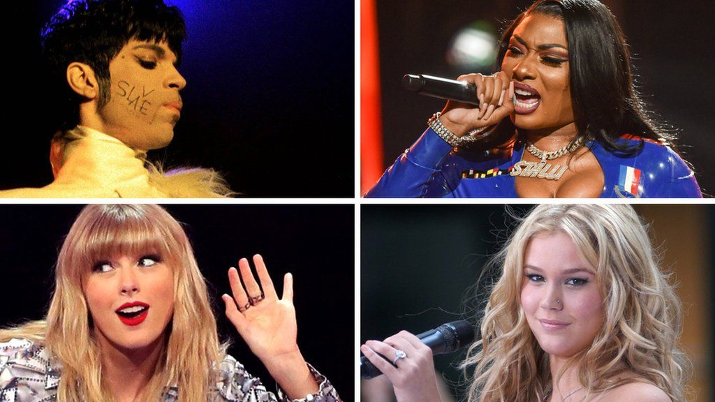 Prince, Megan Thee Stallion, Joss Stone and Taylor Swift