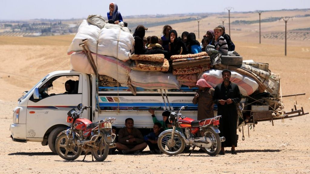 UN refugee agency: Record 65.6 million people displaced worldwide