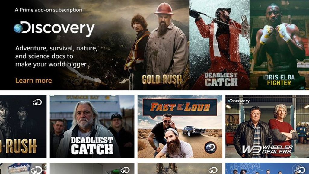 Amazon adds live TV channels to Prime Video