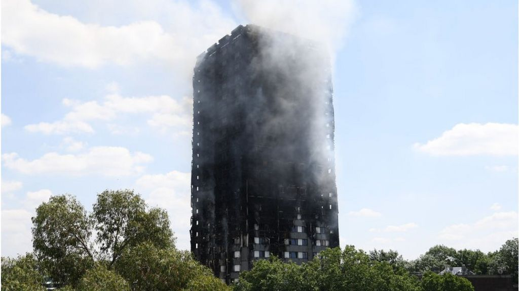 Sale of Grenfell cladding firm collapses - BBC News