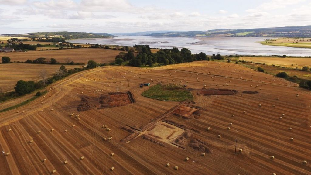 Large '1,400-year-old cemetery' uncovered in Highlands