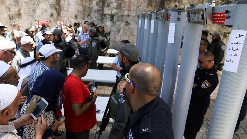 Jew Detector: Israel To Remove Jerusalem Metal Detectors