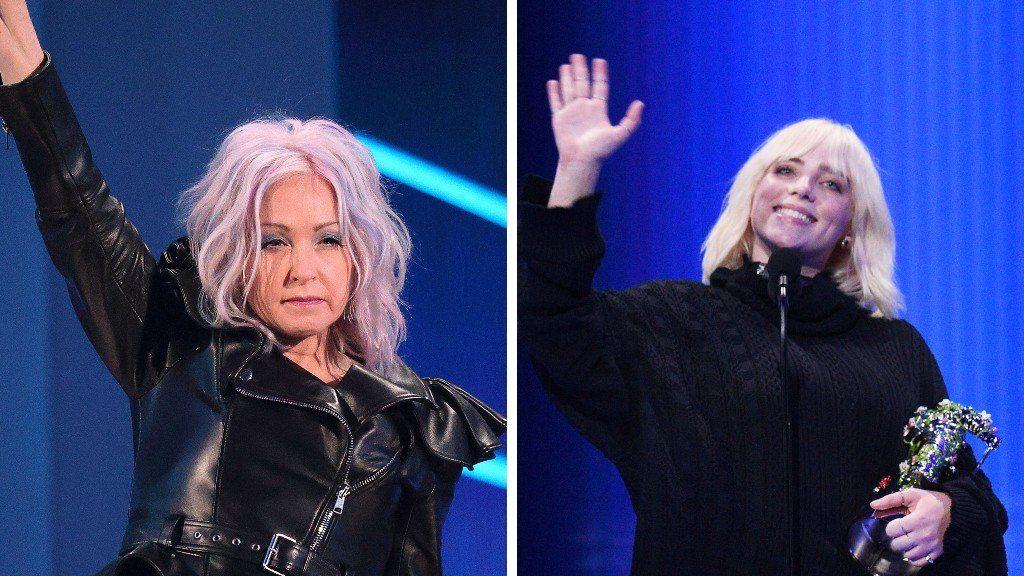 Cyndi Lauper and Billie Eilish