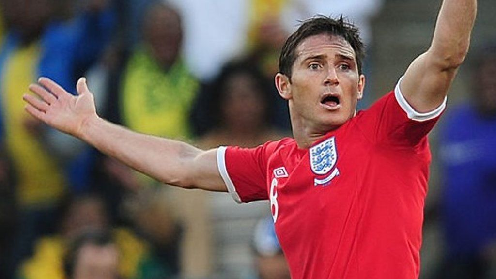 On this day: Frank Lampard's 'goal' against Germany at World Cup 2010