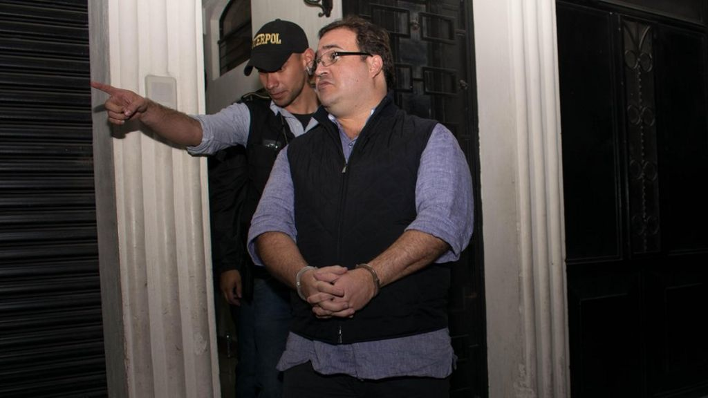 Fugitive Mexican governor Javier Duarte arrested in Guatemala