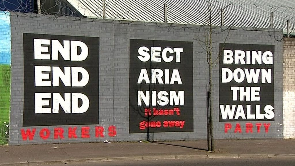 northern ireland s peace walls Teenagers in working class belfast belie success of integration efforts.