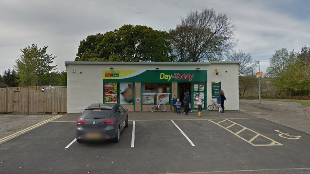 Shop worker assaulted by masked man during knife raid - BBC News 20b1a1a60
