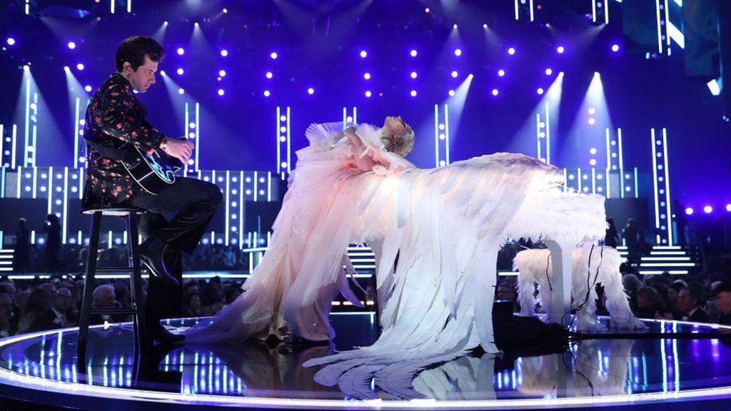 Mark Ronson and Lady Gaga