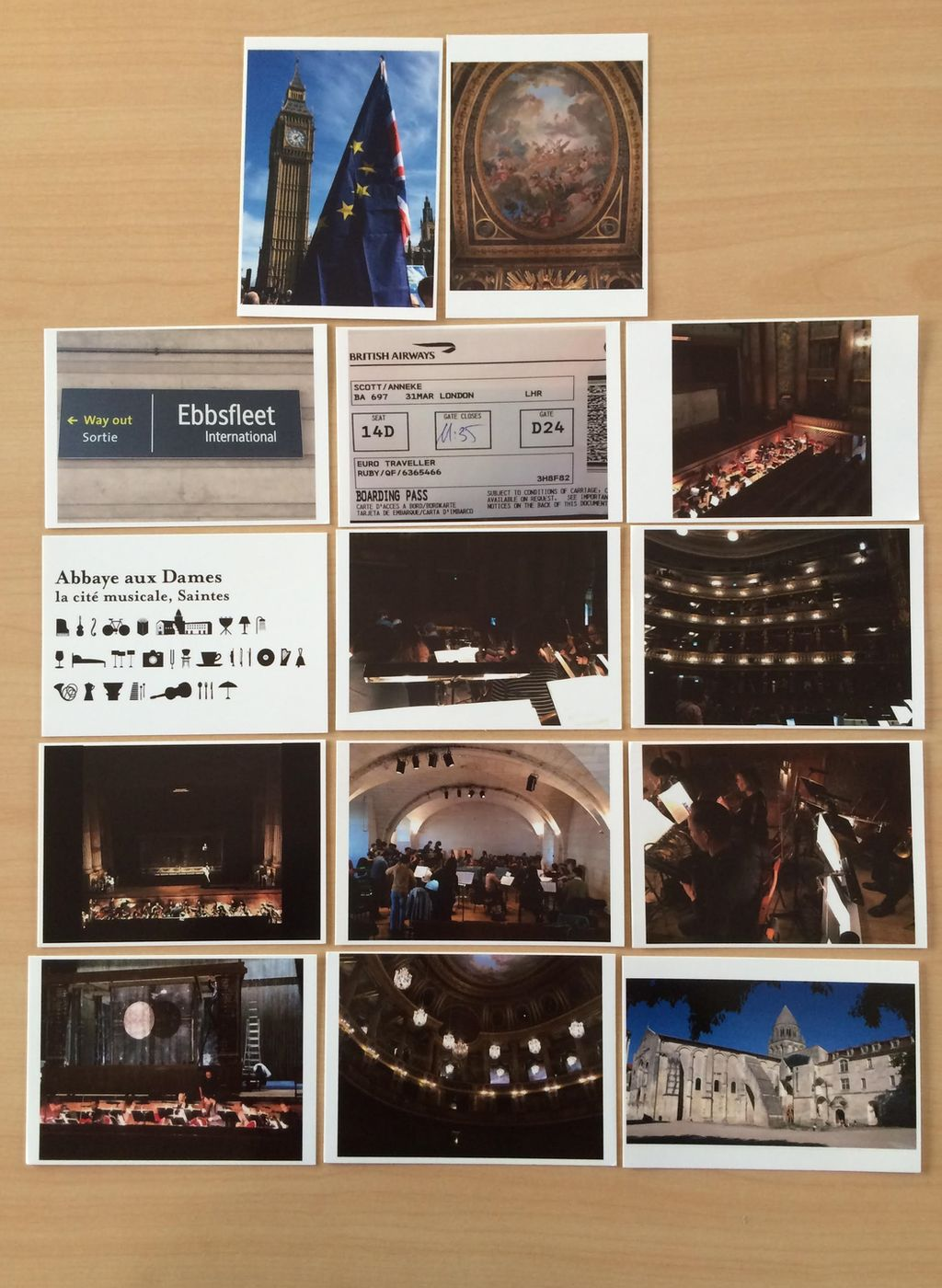 Anneke Scott's postcards