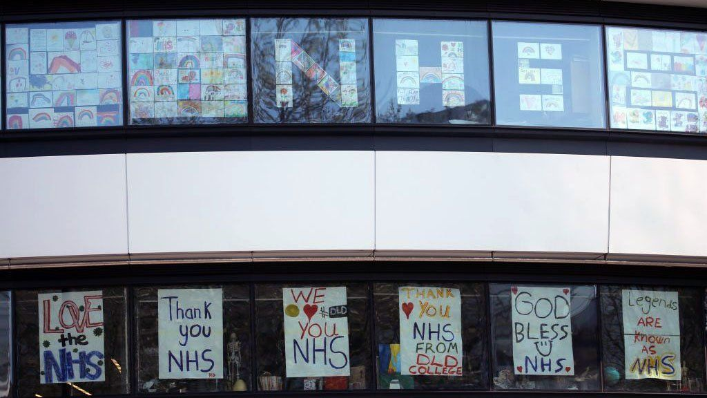 Messages of support for NHS