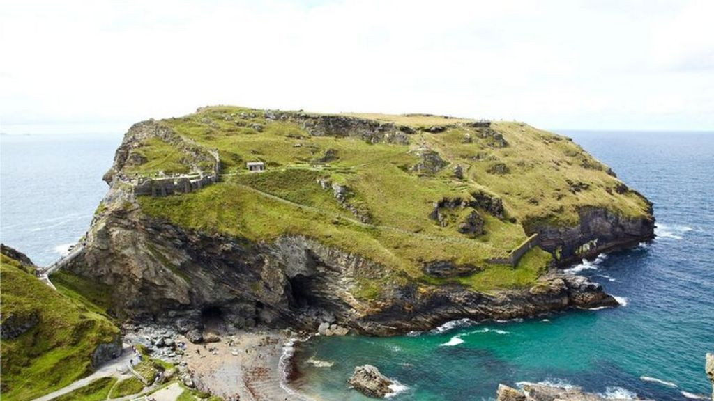 Thumbnail for Tintagel Castle excavations reveal the lives of kings - BBC News