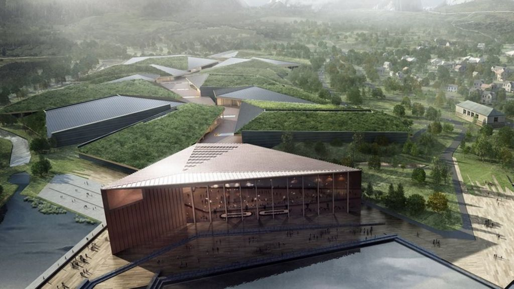 Record-sized data centre planned inside Arctic Circle