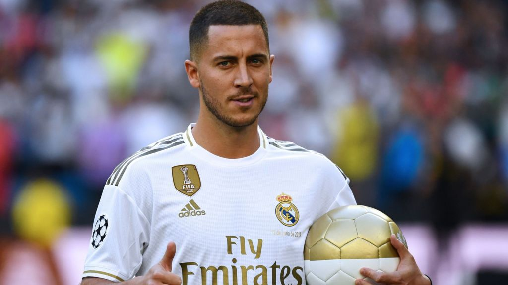 Image result for Hazard: I want to impress everyone at Real Madrid