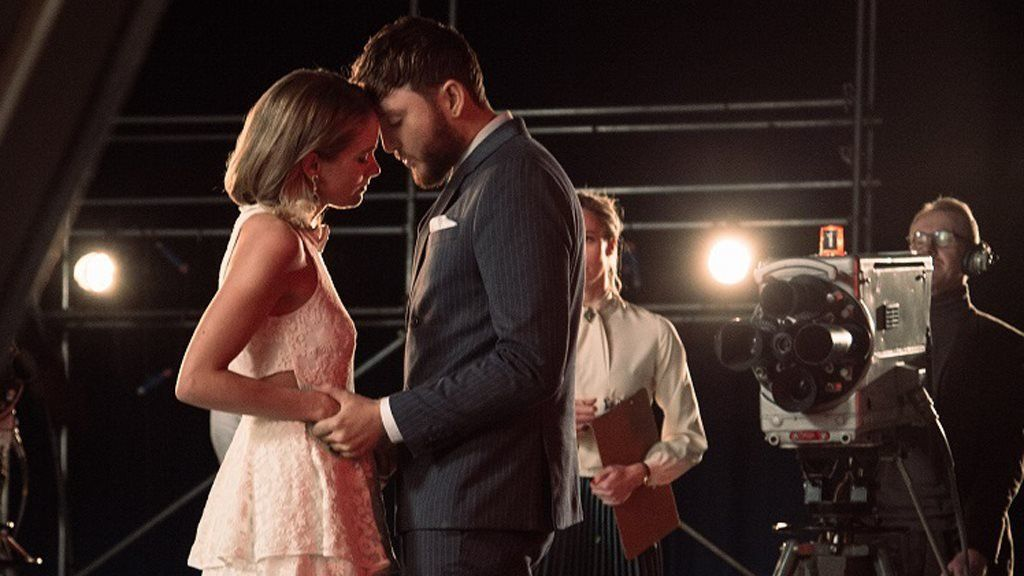 James Arthur and Cressida Bonas play quarrelling lovers in the dramatic video for Naked