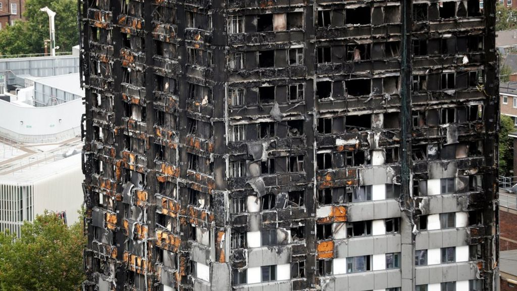 Grenfell Tower: 82 buildings fail new fire safety test