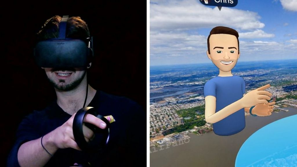 Inside Facebook's Virtual Reality Chat Room