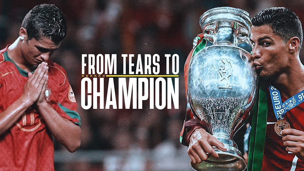 From tears to champion: How Ronaldo became a Euros legend