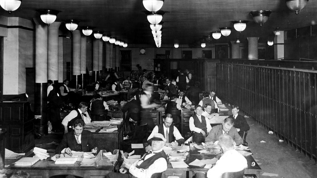Journalists in the 1920s